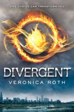 divergent - veronica roth (cover)