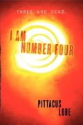 i am number four - pittacus lore (cover)