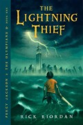 rick riordan - the lightning thief (cover)