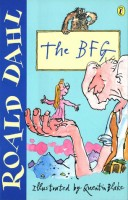 the bfg - roald dahl (cover)