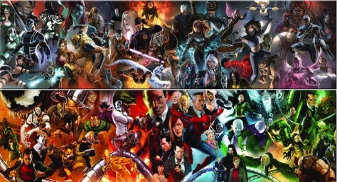 dc comics oil prints