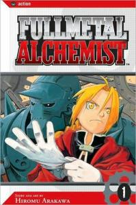 FMA - Hiromu Arakawa - Manga Cover