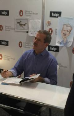 chris hadfield - tibf