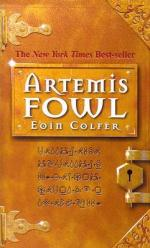 artemis fowl - eoin colfer (book one cover)