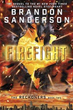 brandon sanderson - firefight cover