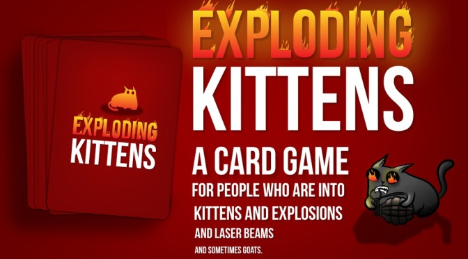 [Alternatives] – Card Games – Exploding Kittens