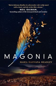 magonia - maria dahvana headley (book cover)
