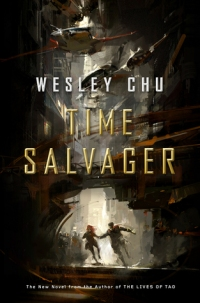 time salvager - wesley chu (cover)