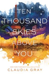 a thousand skies above you - claudia gray - book cover