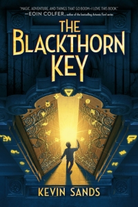 blackthorn key - kevin sands - book cover