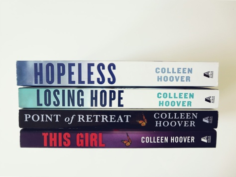 sept15bookhaul-colleen-hoover-slammed-hopeless