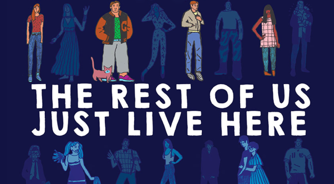 [Review] The Rest of Us Just Live Here — Patrick Ness