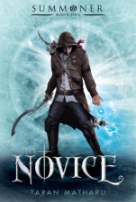the novice - taran matharu - book cover
