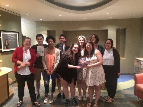 simon and schuster blogger meetup fall 2016 bloggers