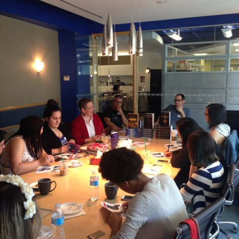 simon and schuster blogger meetup fall 2016 roundtable