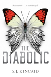 the diabolic - s.j. kincaid - bookcover