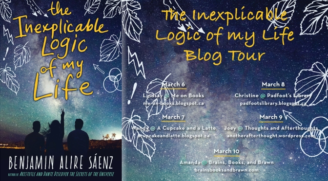 [Review] The Inexplicable Logic of My Life – Benjamin Alire Sáenz (+ Excerpt)