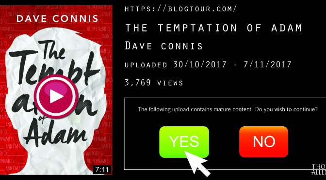 [Review] The Temptation of Adam – Dave Connis (+ Author Q&A and Giveaway!)