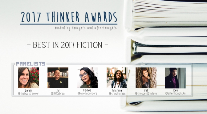 The Thinker Awards – Best in 2017 Fiction