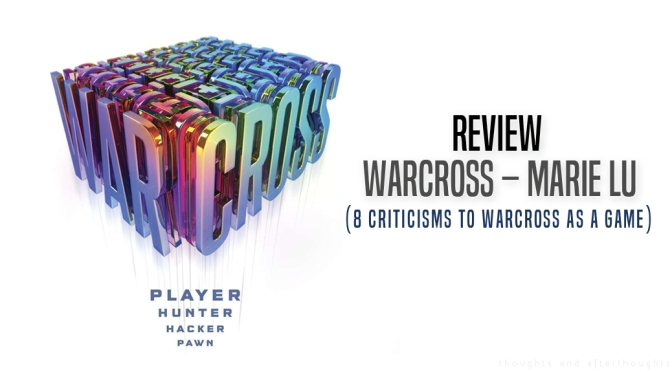 [Review] Warcross – Marie Lu (8 Criticisms To Warcross as a Game)