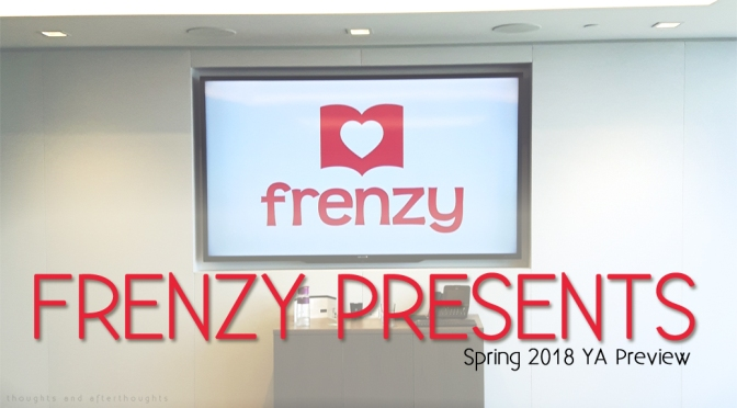 [Book Events] HarperCollins Canada: Frenzy Presents (Spring 2018) + Book Haul