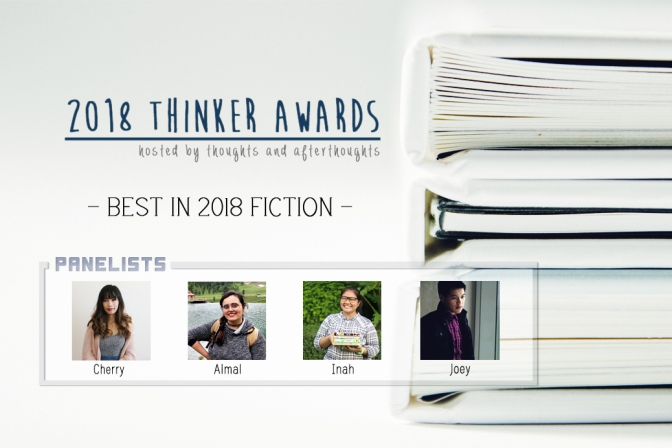 The Thinker Awards– Best in 2018 Fiction