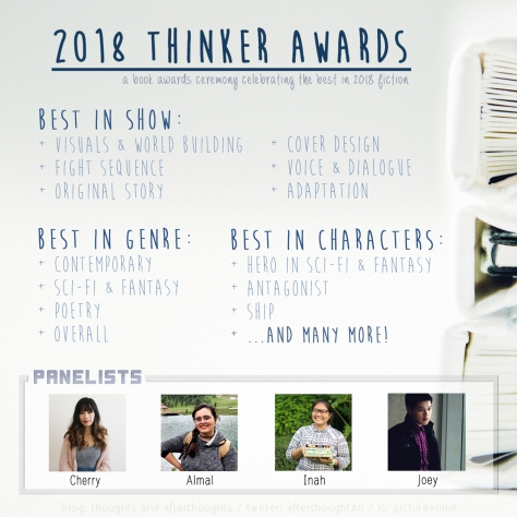 The Thinker Awards – Best in 2018 Fiction | thoughts and